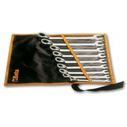 Kombinycklar med spärr och omkopplare 8-19mm sats 9st, ringspärrnycklar, Beta Tools