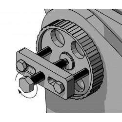 Universal avdragare för hjul, bl.a. för insprutningpump på Fiat, Ford, VW, Citroën, Peugeot, Beta Tools