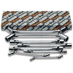 Ledhylsnyckelsats, 8st, 6x7mm-20x22mm, Beta 80/S