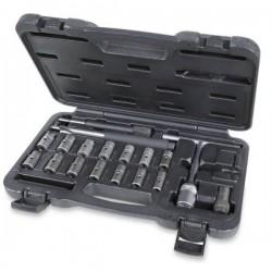 Fräs och rengöringssats för spridarsäte, 19 delar, Beta Tools