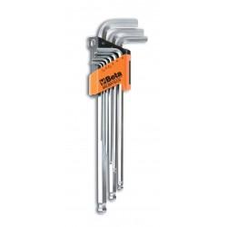 Insexnyckelsats, långa, 8st, 2-10mm, Beta 96L/SP8