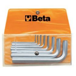 Insexnyckelsats, 8st, 2-10mm, Beta 96/B