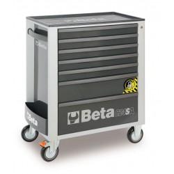 Verktygsvagn, 7 utdragbara lådor, Beta Tools