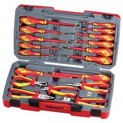 Verktygssats 1000v, tång, skruvmejslar m.m. 18 delar, Teng Tools