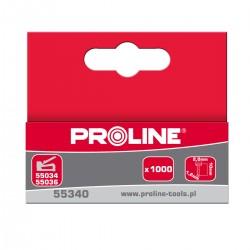 Spikar för häftapparater 14x2.0x1.2mm, 1000st., kartong Proline