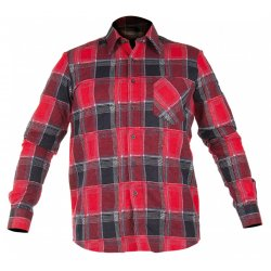 "FLANNEL SHIRT RED, 12  0GM2, "" S"" , CE , LAHTI"