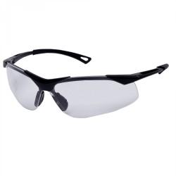 Lätta färglösa skyddsglasögon FT, UV, tunna elastiska bågar