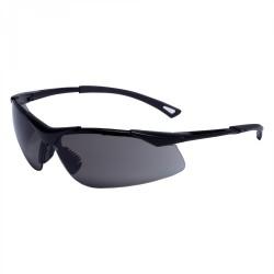 Lätta röktonade skyddsglasögon, UV, FT, tunna elastiska bågar