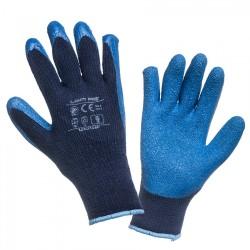 "GLOVES WINTER  blå L250108  P, (butiksförp.), "" 8  "" , CE, LAHTI"