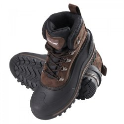 "SNOW BOOTS, SYNTHETIC SUEDE, BROWN, "" 39"" , LAHTI"