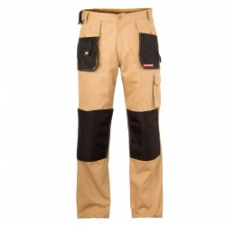 "PANTS, BEIGE, 100% COTTON, "" S (48  )"" , CE, LAHTI"