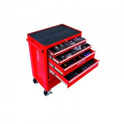 Verktygsvagn (verktygsskåp), 6 lådor, 193st, Proline
