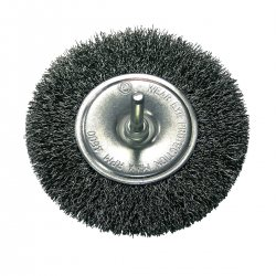 CRIMPED WIRE WHELL BRUSHES - FI=12  0 MM, 6 MM  PROLINE