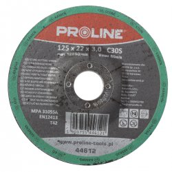CUTTING DISC för STONE DEPRESSED. T42, 230X3.0X22C30S PROLINE
