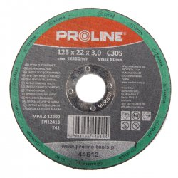 CUTTING DISC för STONE, T41 , 230X3.0X22C30S PROLINE