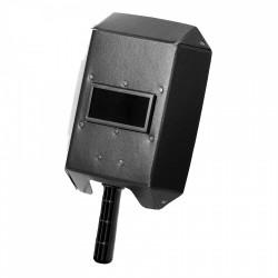 Svetshjälm / svetsmask, gjord av presspan, 275 X 200 x 85 mm, filter 10 DIN 50x100 mm, CE, LAHTI