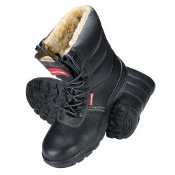 "ANKLE SHOES, INSUL., HIGH, LEATH.,BLACK,S3 SRC,"" 39"" ,CE,LAHTI"