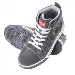 Skyddsskor, tåliga och bekväma, grå-röd färg, SB SRA, CE, LAHTI
