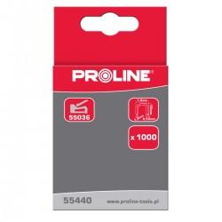 Häftstift typ G, halvrunda 12mm 7.6x1.2mm 1000st. Proline