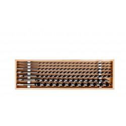 Träborr långa, sats 7 st (6-18MM), 460mm, PROLINE