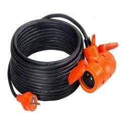 Förlängningskabel 230V RR PS-200G IP44/3*1.5/30M 2GS CE