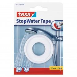 Teflontape, tätning för plast- och metallgängor, gängtätning, 12mm längd 12meter Stop Water, Tesa