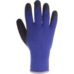 Skyddshadskar varma överdragna med latex, blå-svarta, M-2XL, CE, LAHTI