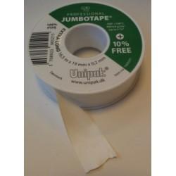 Teflontape, tätning för plast- och metallgängor, 19x0,2mm längd 16.5meter, Jumbotape