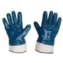 "GLOVES NITRILE NAVY blå L220510P, (butiksförp.), "" 10"" , CE, LAHTI"