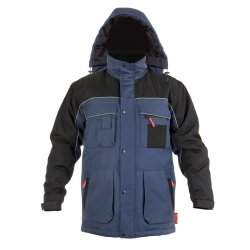"COAT, PADDED, BLUE, "" M"" , CE, LAHTI"