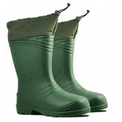 MEN'S WELLING.BOOTS,COLLAR,LINING(034),grön,EVA,S.4 6,KOLMAX