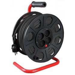 Kabelvinda 220V 25m, 3x1.5mm2, IP44, jordad IP20, Proline