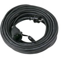 Förlängsningssladd av gummi 220V 20m, 3x1.5mm2, IP4 4, jordad PS-H2G IP44, Proline