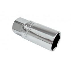 Tändstiftshylsa 6-kant, gummibelägg, 16mm PROLINE