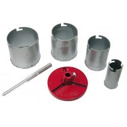 Hålsåg 33-73mm sats 7st (wolfram)