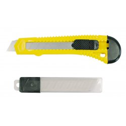 Brytbladskniv 18mm, sats med 10 brytblad