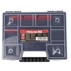 Förvaringsbox, organiser med handtag 11 fack 3.5x15.5x19.5, PROLINE HD
