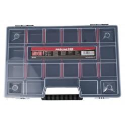 Förvaringsbox, organiser med handtag 23 fack 3.5x19.5x29, PROLINE HD