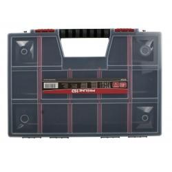 Förvaringsbox, organiser med handtag 15 fack 6.5x29x39, PROLINE HD