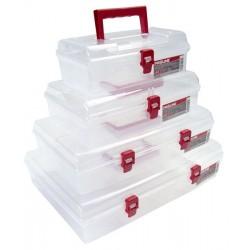 Förvaringsbox, organiser med handtag 6 fack 35.9x23.8x8.5 cm, PROLINE
