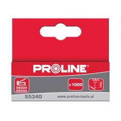 Spikar för häftapparater 10x2,0x1,2mm, 1000st., kartong PROLINE