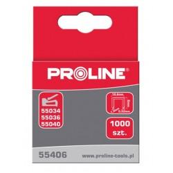 """Häftklammer härdade - 12x10.6x1.2mm,  1000st.  TYP """" G""""  PROLINE"""
