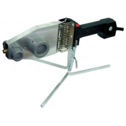 Värmekolv för sammanfogning av PVC rör PJ-2 1300/750W, 230V med stativ