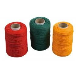 Fogsnöre plast (polypropylen) - 100MM, sats med 3 färger