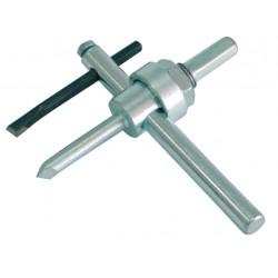 Håltagare för trä (utbytbart skärblad, art.nr 64011) 30-150mm