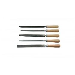 Metallfilar 5st sats - RPS-5 150/2 trähandtag