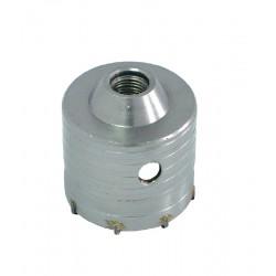 Borrkrona 65-80mm SDS Plus gänga M22 (hålsåg för betong)