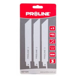 Sågblad för metall, 3st Proline (TPS710, TPS1050)