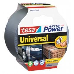 Vävtejp / silvertejp, universal, Extra Power 10m x 50mm, TESA