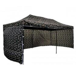 Tält 3x6m Kamouflagetält , stabil av bra kvalitet, 3 eller 4 väggar (camogrön, militärtäl, snabbtält, försäljningstält, eventtält)